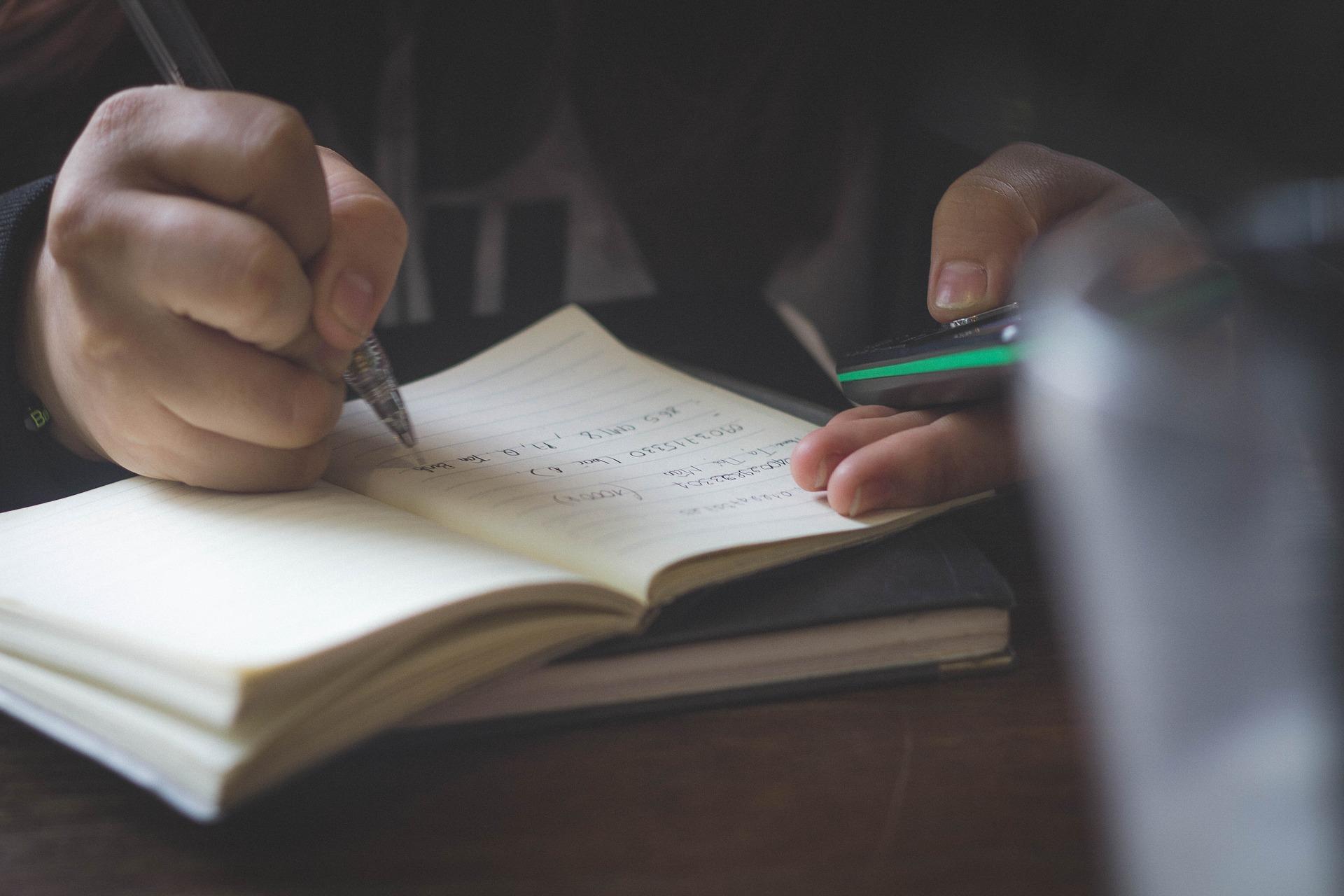 Vyhledávání poznámek copywritin