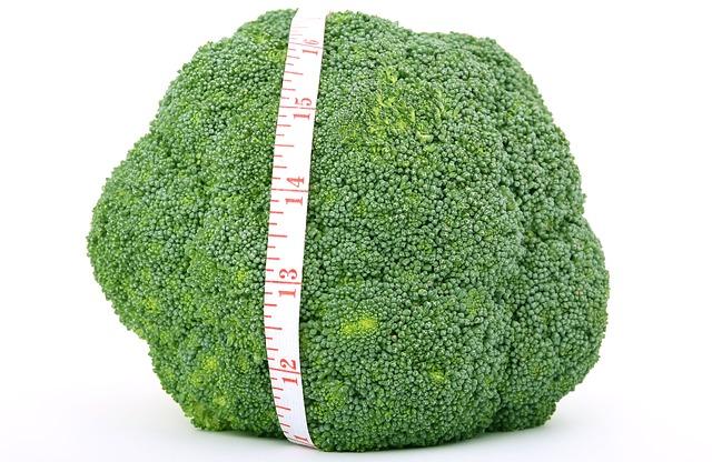 metr přes brokolici