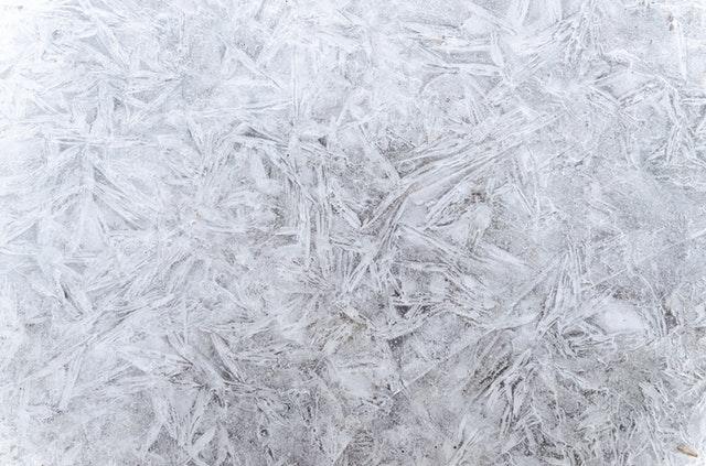 sníh, led