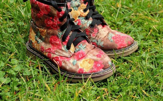 květinové boty
