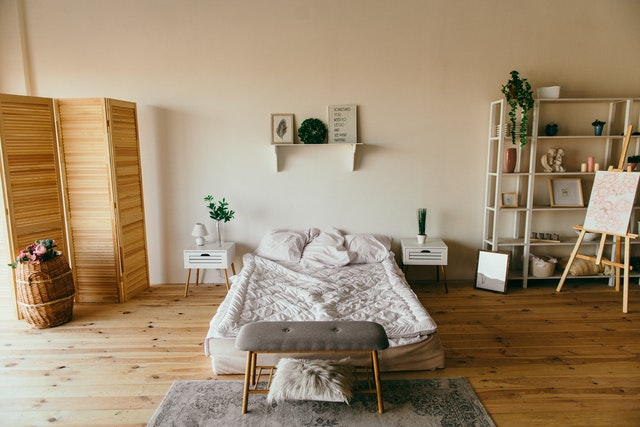 útulná ložnice zaručí dokonalý spánek